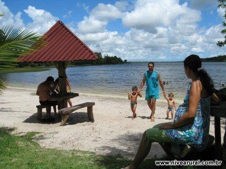 Foto da lagoa durão vista do Nivea Rural